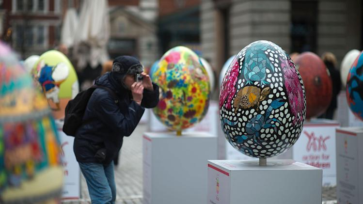 The Big Egg Hunt Begins in London