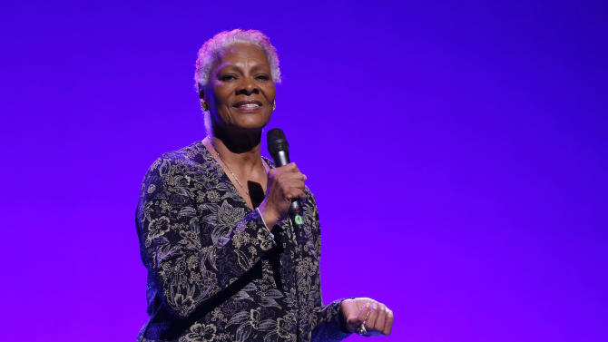 IMAGE DISTRIBUTED FOR BRIGHT FUTURE INTERNATIONAL - Dionne Warwick performs at Beyond the Ballet Presented by Bright Future International at the Beacon Theater on Wednesday, May 8th, 2013 in New York City, New York. (Photo by Todd Williamson/Invision for Bright Future International/AP Images)