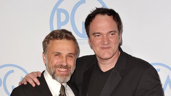 21st Annual Producers Guild Awards 2010 Christoph Waltz Quentin Tarantino