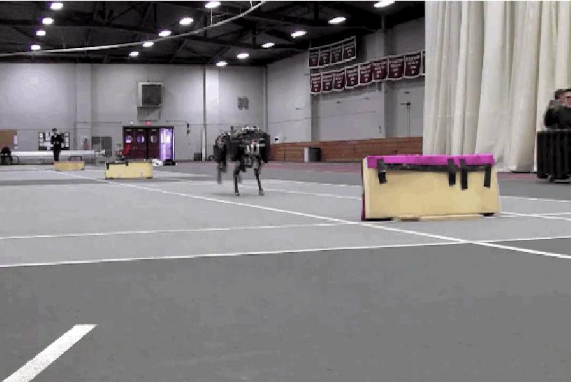 Good news everyone! We can finally add hurdling to the Scary Robot Olympics
