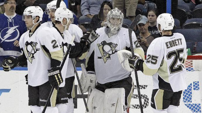 Kunitz's 2 goals lead Penguins, 3-0