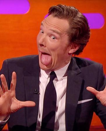 Benedict Cumberbatch Proves He's an Otter