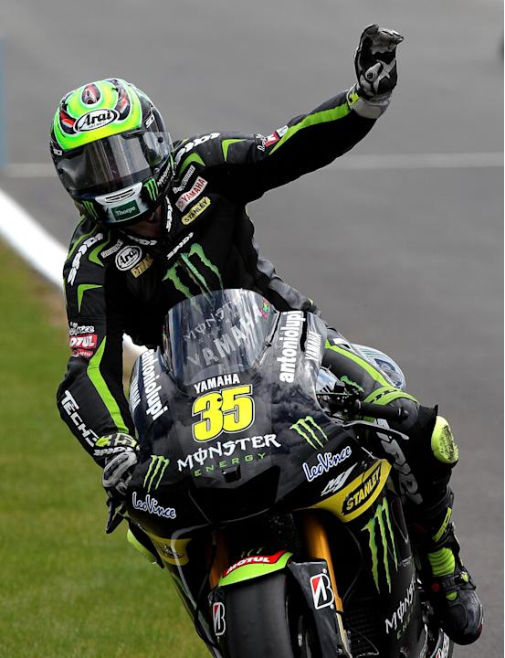 Motorcycling - Cal Crutchlow Filer