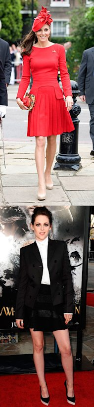 This week's best dressed with Kate Middleton and Kristen Stewart in British designers