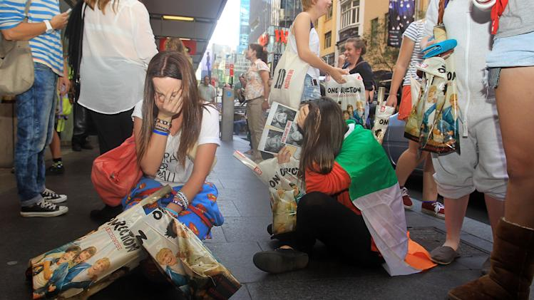 One Direction Opens Sydney Promotional Store