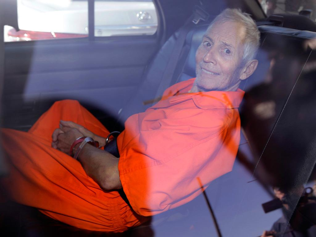 Robert Durst Sentenced to 7 Years on Weapons Conviction