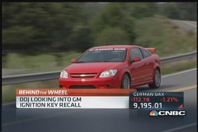 DOJ conducting criminal investigation of GM