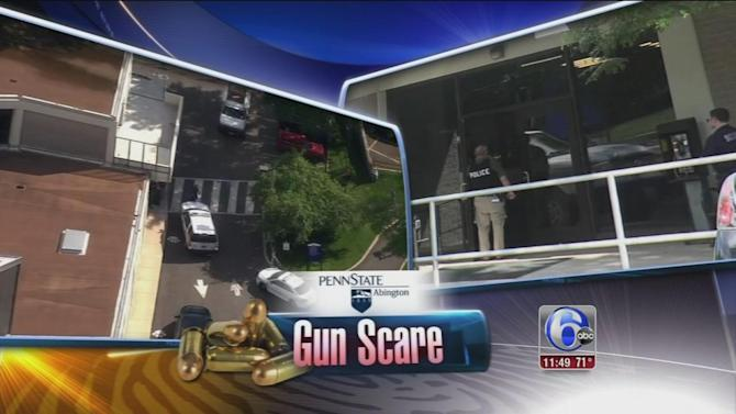 Charges possible in Penn State Abington gun scare