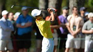 Guan shoots 77, says 'I played pretty good'