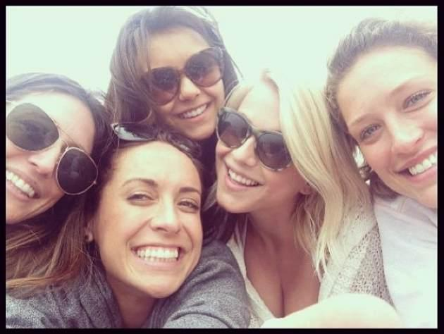 Julianne Hough with Nina Dobrev and pals -- Instagram