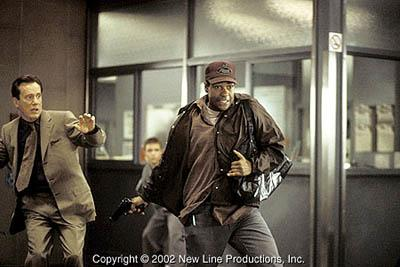 James Woods and Denzel Washington in New Line's John Q