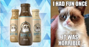 Grumpy Cat Is Out of Control, Now Has Official Drink, Will Soon Rule World