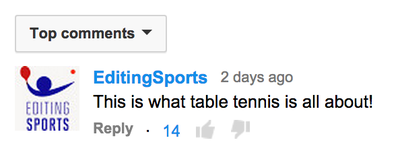 This epic point has the table tennis Internet going nuts