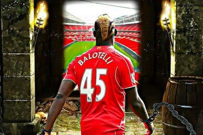 Mario Balotelli was chained in a dungeon by Liverpool, apparently