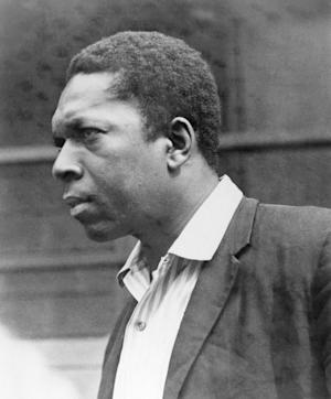 "FILE - This 1964 file photo shows jazz saxophonist John Coltrane. The year 2014 will mark the 50th anniversary of Coltrane's completion of ""A Love Supreme."" He died of cancer in 1967 at age 40. (AP Photo)"