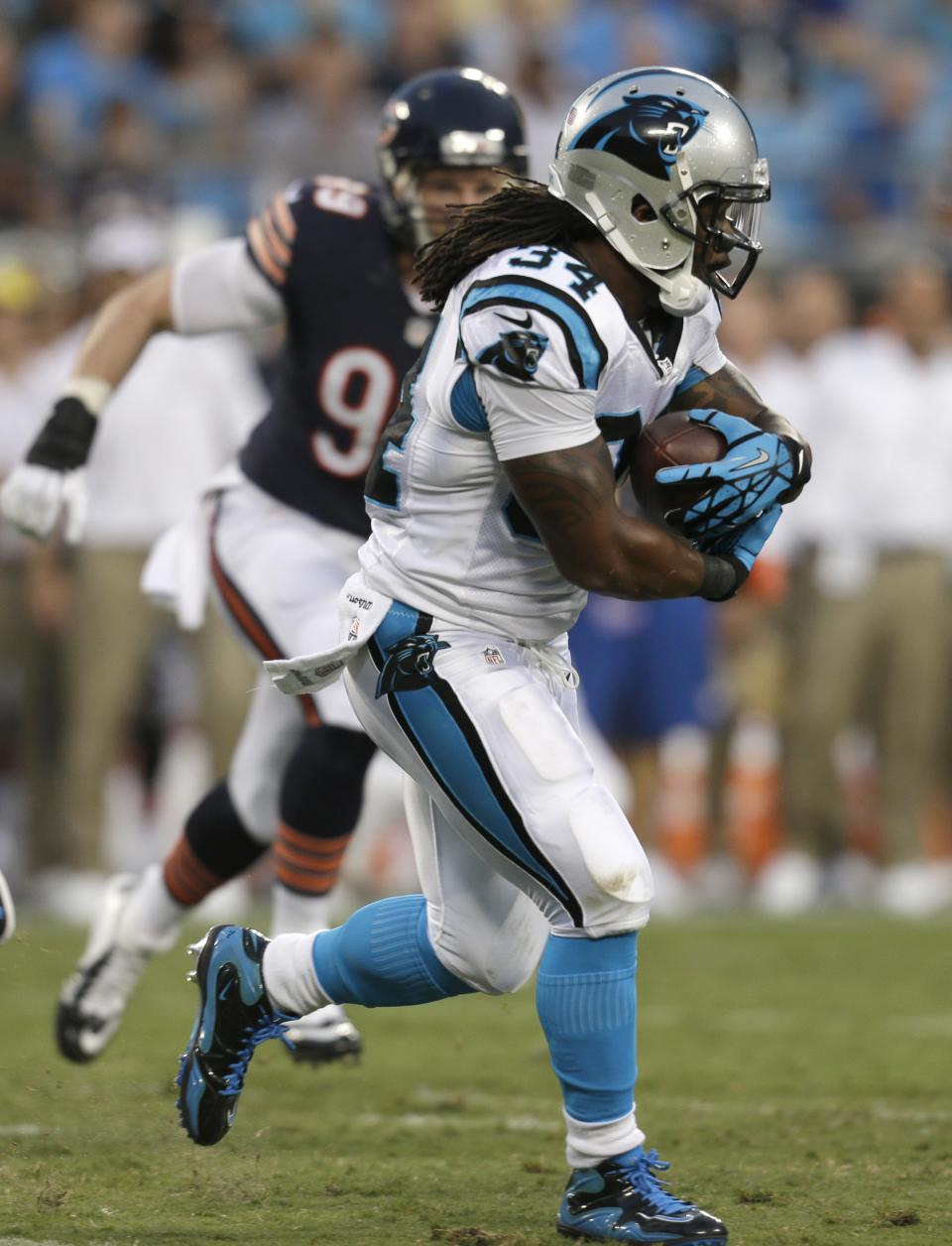 Bears defense shines in 24-17 loss to Panthers