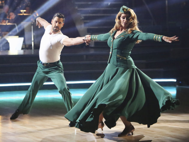 Maksim Chmerkovskiy and Kirstie Alley (11/12/12)