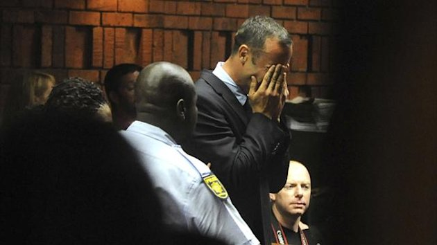 2013 Pistorius tears - AP/LaPresse