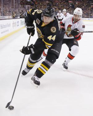 Bruins' Seidenberg out for season with knee injury