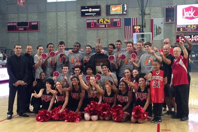 The Buckley champion boys basketball team ... and Paris Jackson, at front left — Buckley.org