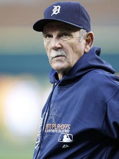 Call Jim Leyland the face of these taut playoffs