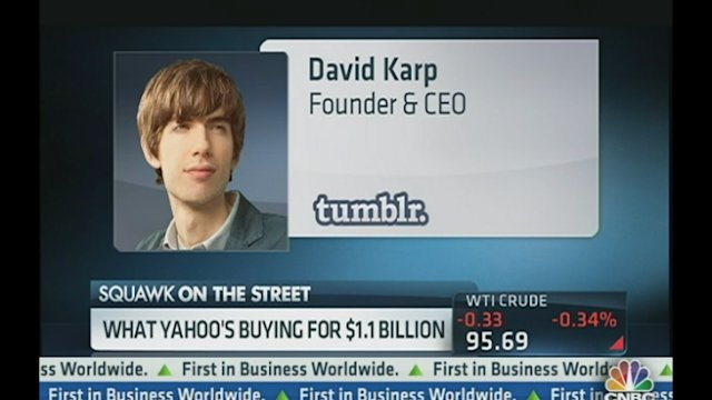 Yahoo Agrees to Buy Tumblr