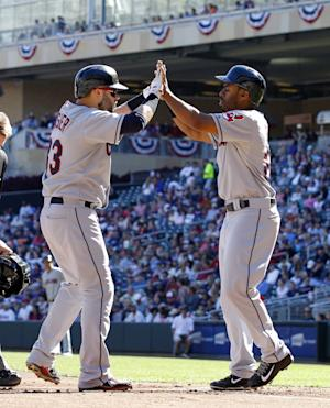 Indians clinch wild card with 5-1 win over Twins