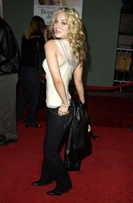 Premiere: Kaley Cuoco at the LA premiere of Touchstone's Bringing Down the House - 3/2/2003
