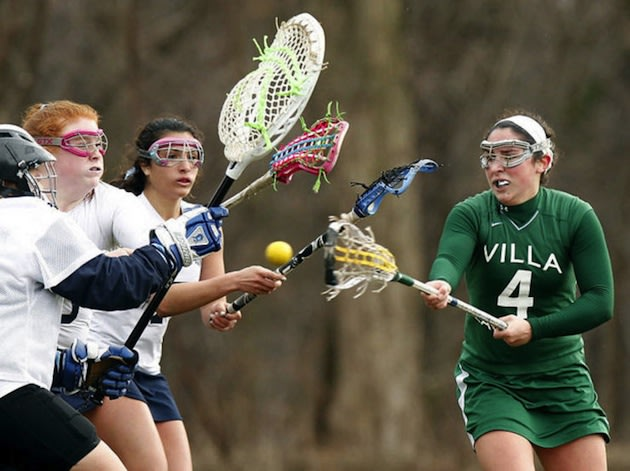 Georgetown-bound Candace Pallitto scored 11 goals in her girls lacrosse team's season opener -- The Star-Ledger
