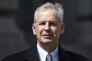 Dish Network Corp Chairman Charles Ergen exits the US Bankruptcy court in New York