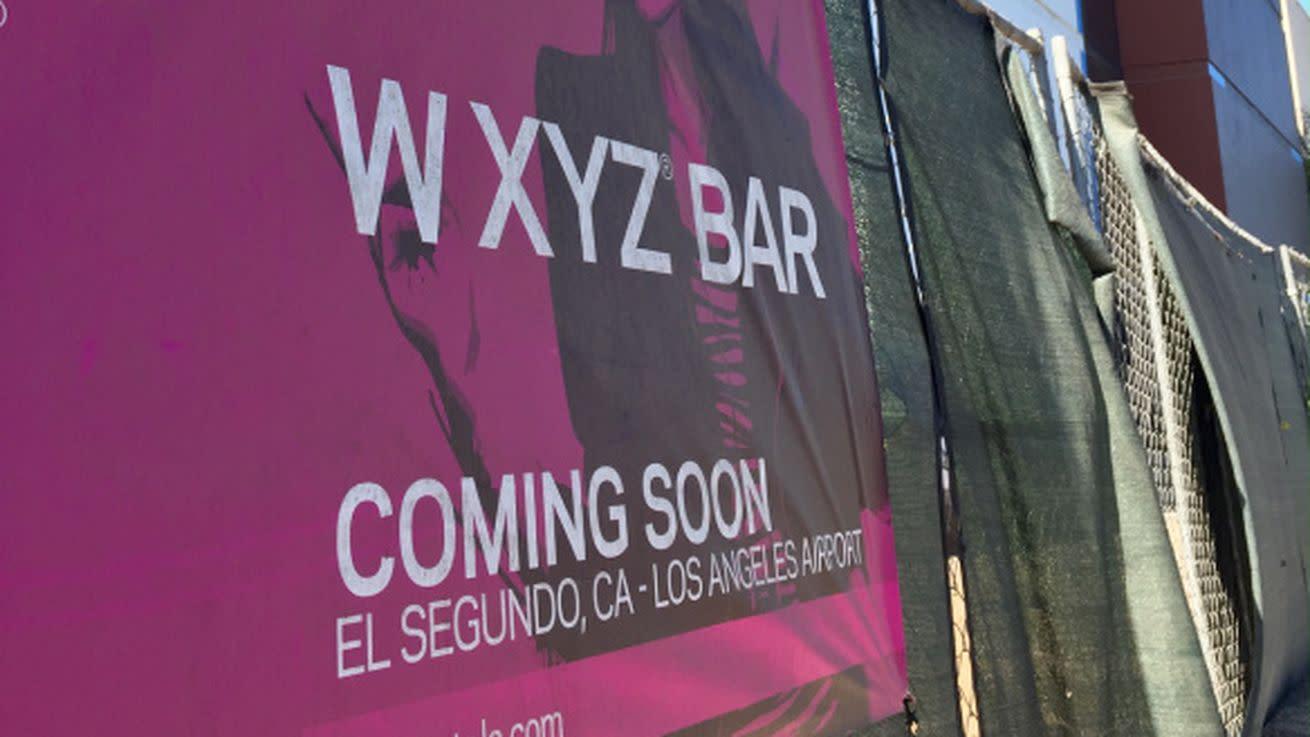 Aloft Hotel's W XYZ Bar Destined For El Segundo