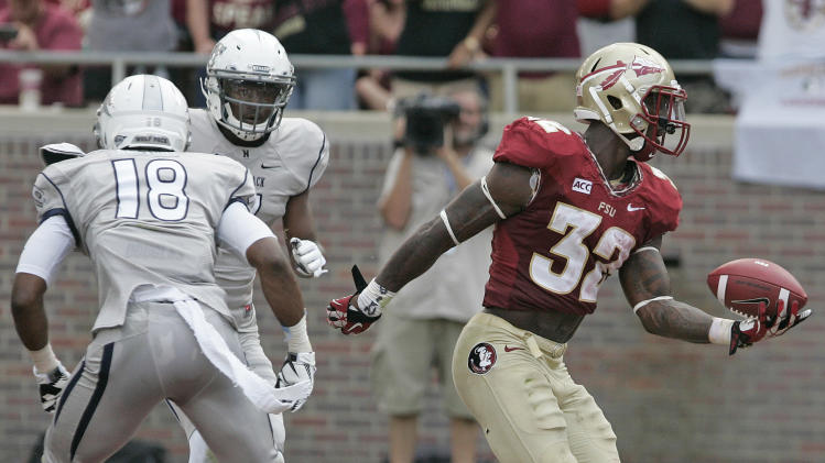 No. 8 Seminoles' RBs take pressure off young QB