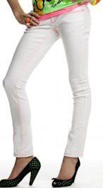 Vanilla Star White Denim $34
