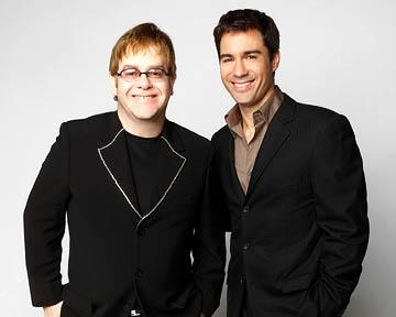 Elton John and Eric McCormack on NBC's Will and Grace