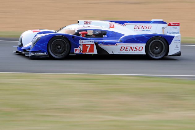 Toyota Ts 030 - Hybrid  N°7 driven by Ja