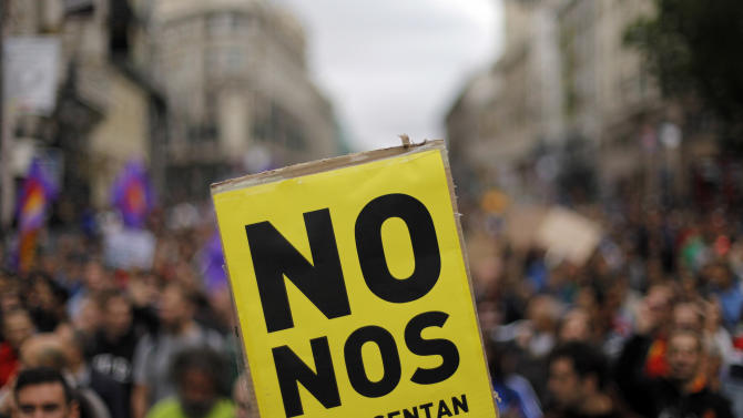 Spain, Portugal brace for more austerity protests