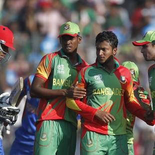 Bangladesh crush Afghanistan by nine wickets