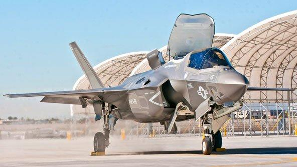New Red Alert for Billions-Over-Budget F-35 Fighter