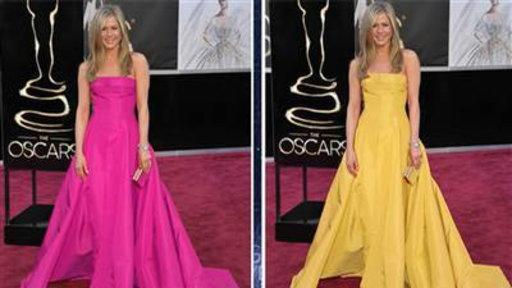 What if Jennifer Aniston Wore Hot Pink at Oscars?