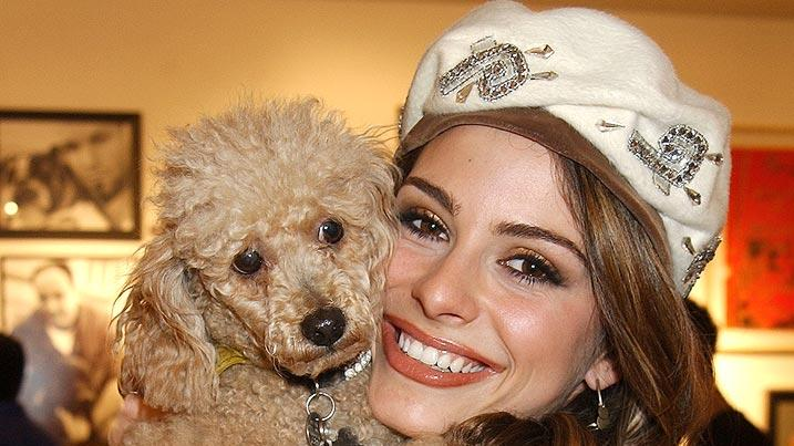 Maria Menounos and dog Noelle