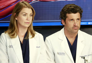Ellem Pompeo and Patrick Dempsey | Photo Credits: Ron Tom/ABC