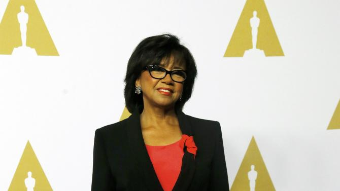 Cheryl Boone Isaacs arrives at the 88th Academy Awards nominees luncheon in Beverly Hills
