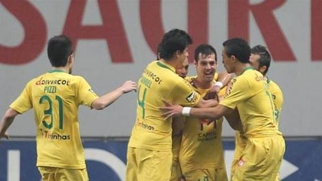 Portuguese SuperLiga side Pacos de Ferreira celebrate (Imago)