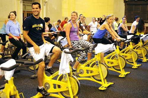 Fitness Month: Spin Class Invasion: Here Come the BroCyclers