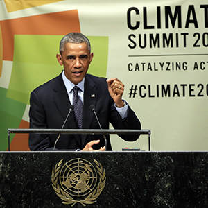 Obama: No Nation Gets Pass on Climate Change