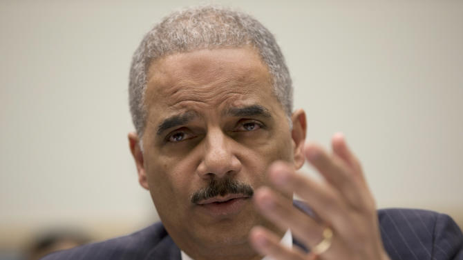 Holder: Potential civil rights violations at IRS