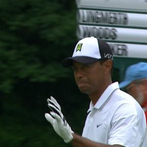 Tiger Wood's dialed in approach for Shot of the Day
