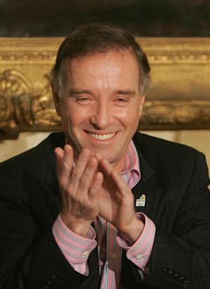 In this April 7, 2009 file photo, Brazilian billionaire Eike Batista attends a ceremony in which Batista donated about $4.5 U.S. million dollars for the the Rio 2016 Olympic games bid, in Rio de Janeiro, Brazil. Batista has stepped down as chairman of energy company MPX Energia after it was forced to call off a long-sought IPO. (AP Photo/Ricardo Moraes, File)
