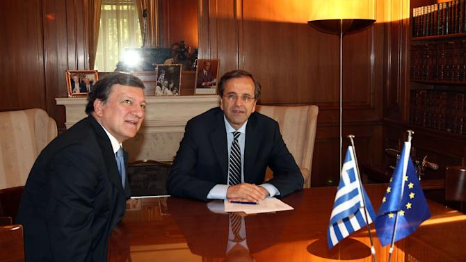 A look at Greece's key financial figures