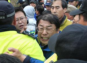 Relatives of missing passengers aboard the sunken ferry …
